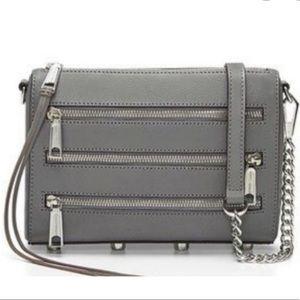 Rebecca Minkoff  Leather Zipper Crossbody